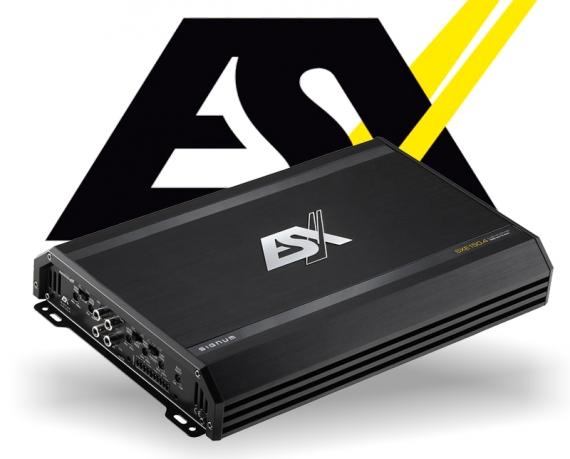 ESX Auto Verstärker Endstufe SXE150.4 4x 100W