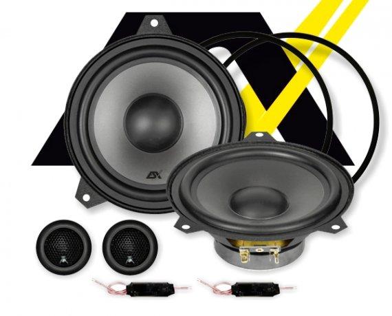 ESX Vision 2-Wege Auto Lautsprecher für BMW E46 System VS-165C
