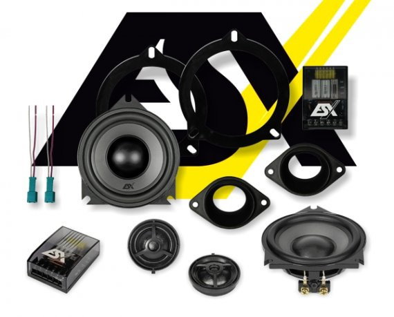 ESX Vision 2-Wege Auto Lautsprecher für BMW System VS-100C