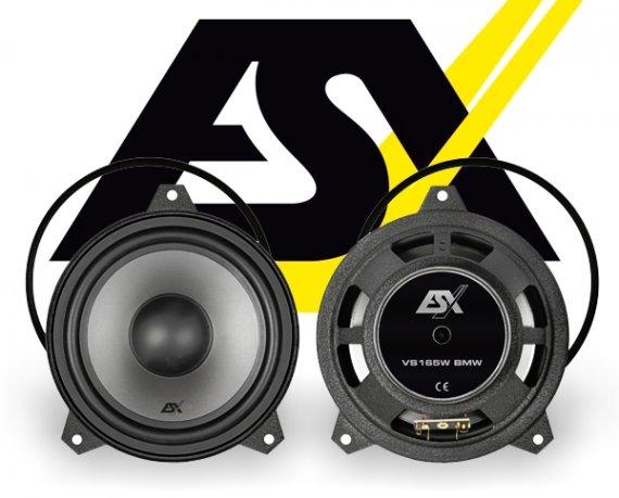 ESX Vision Auto Subwoofer Bass für BMW VS-165W