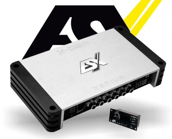 ESX Auto DSP Prozessor X-DSP 8-Kanal