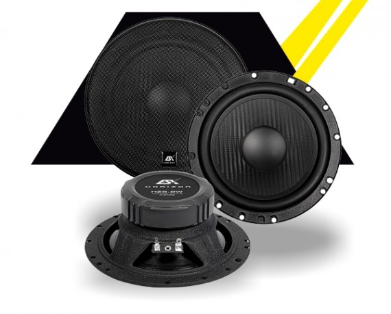 ESX KickBass Subwoofer Horizon HZ-6.2W 165mm 200W