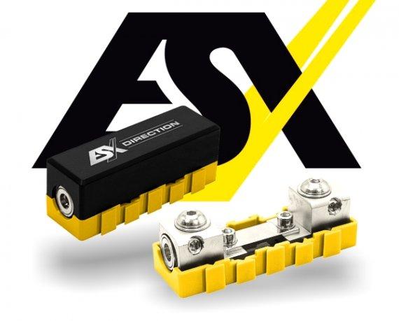 ESX ANL Mini-ANL Sicherungshalter Verteilerblock modular erweiterbar DFH-ANL