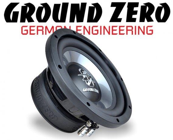 Ground Zero Subwoofer Bass GZIW 200X II 20cm 300W