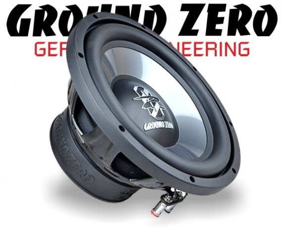 Ground Zero Subwoofer Bass GZIW 250X II 25cm 500W