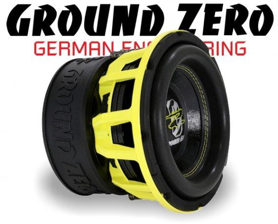 Ground Zero Subwoofer Bass GZHW 20SPL 20cm 1500W