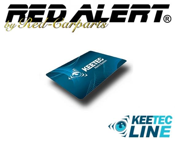 Zusatz-Chek-Karte RFID für Elektronische Wegfahrsperre WFS003