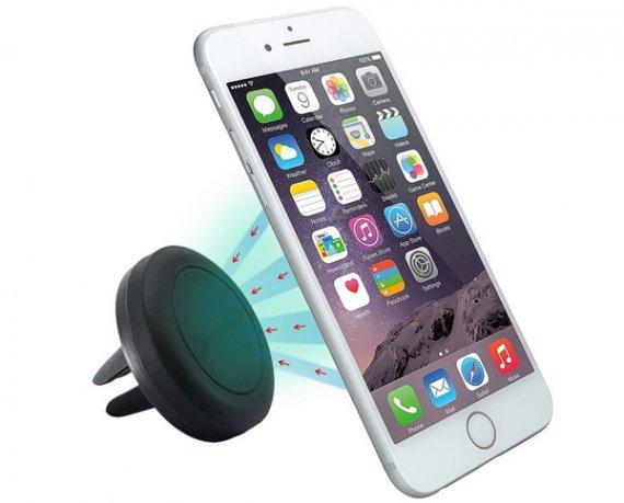 Magnetische Handyhalterung / Smartphone-Halterung für Auto Lüftungsschlitze