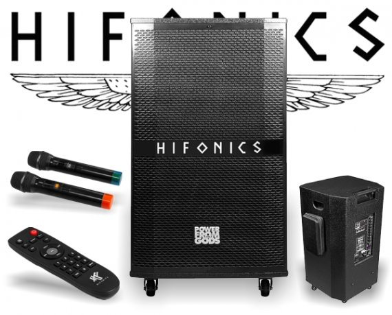 Hifonics EB115A Portable Entertainment Sound System mobile Eventbox mieten