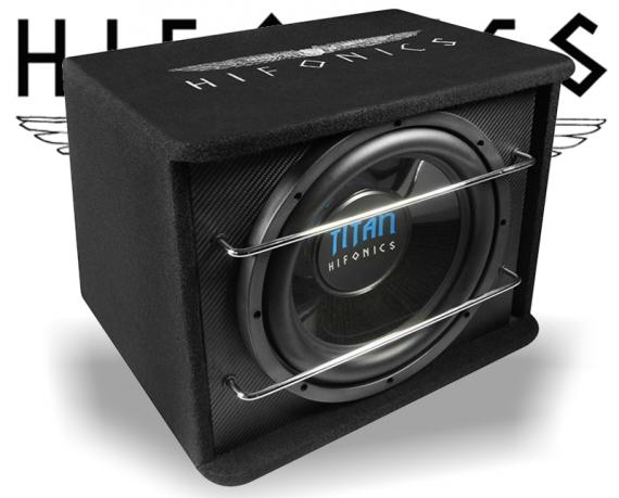 Hifonics Titan Subwoofer Bassreflex TS300R 800W