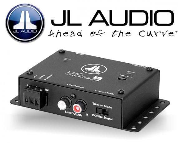 JL Audio LOC22 High to Low Level Converter Premium High-Low-Adapter