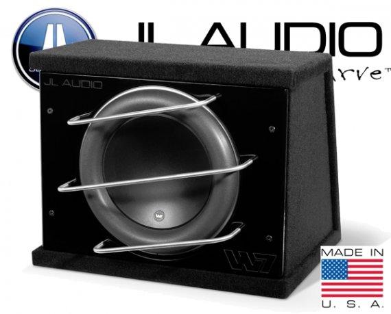 JL Audio W7-Serie Bassbox geschlossen CLS113RG-W7