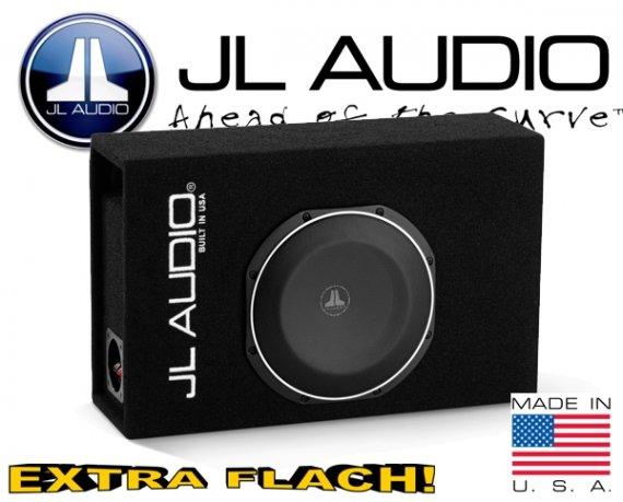 JL Audio Auto Subwoofer Bassbox flach 300W 2ohm CP110LG-TW1-2