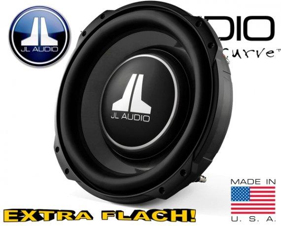 JL Audio Auto Subwoofer flach 400W 12TW3-D4