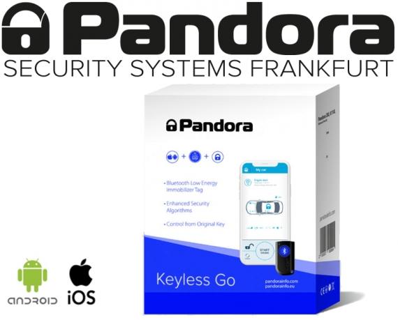 Pandora Keyless Go Nachrüstung Keyless Entry mit Bluetooth Transponder