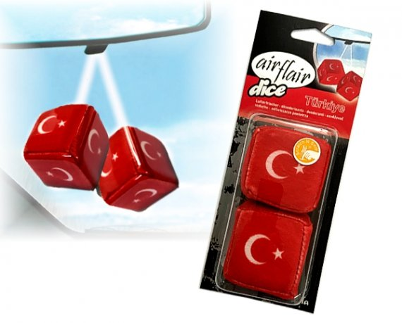 Lufterfrischer Türkei Würfel Turkiye Duft vanille