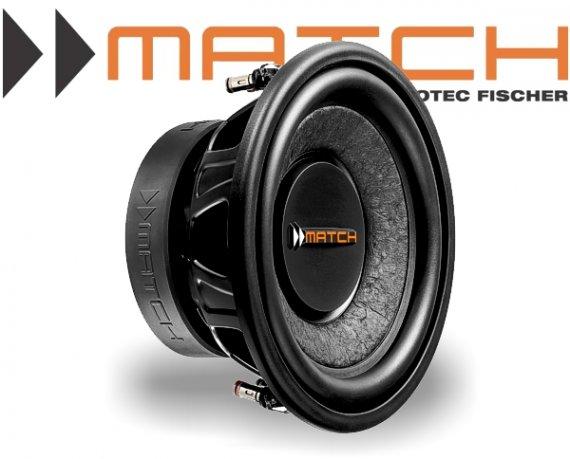 Match Subwoofer Auto Bass 250mm 300W MW10W-D