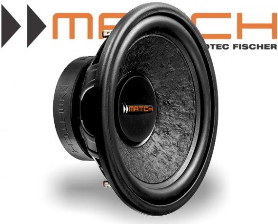 Match Subwoofer Auto Bass 300mm 300W MW12W-D