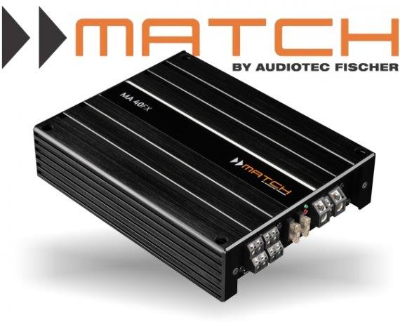 Match 4-Kanal Auto Verstärker Endstufe 1120W MA 40FX