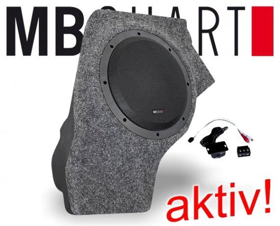 MB Quart VW Aktiv Bass Lautsprecher QB-250 Golf 5
