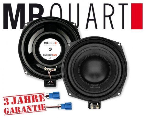 MB Quart Subwoofer BMW Bass Lautsprecher QM-200W BMW 20cm 200W