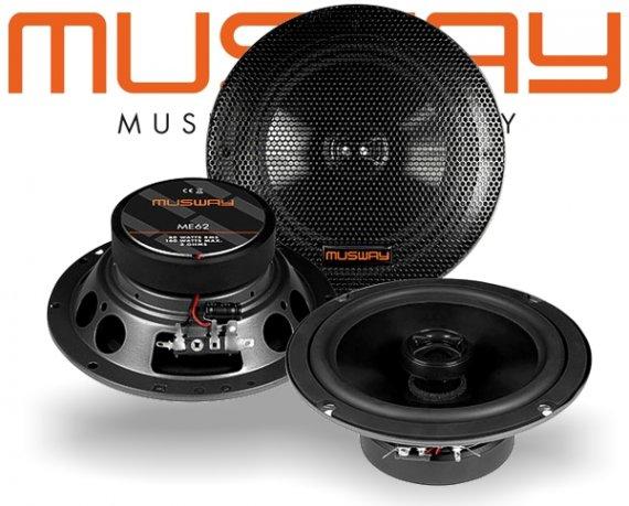 Musway 16,5cm Auto Lautsprecher Koax ME62 160W