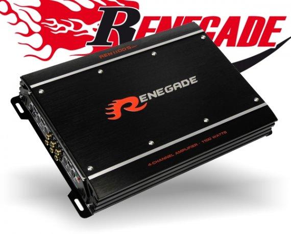 Renegade Auto Verstärker S-Serie Endstufe REN1100S Mk3 4x 275W