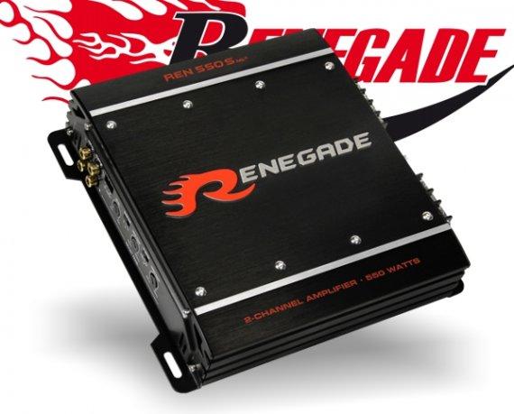 Renegade Auto Verstärker S-Serie Endstufe REN550S Mk3 2x 275W