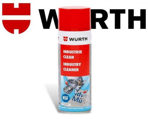 Würth Industrie Clean Reiniger Etikettenlöser Kleberesteentferner uvm. Spray 500ml