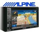 Alpine Navigationsgerät Autoradio INE-W990BT mit USB/iPhone/iPod