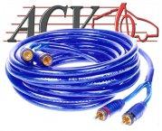 Cinch-Kabel - 2,50m - doppelt abgeschirmt