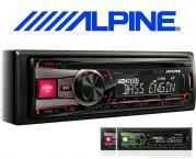 Alpine Autoradio CDE-190R mit CD USB AUX