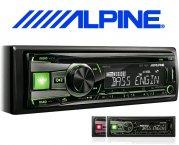 Alpine Autoradio CDE-192R für CD USB iPhone iPod