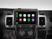 Alpine Premium Autoradio Navigation X903D-DU für Fiat Ducato 3, Citroën Jumper 2 und Peugeot Boxer