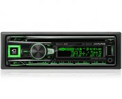 Alpine DAB+ Autoradio CDE-196DAB für CD USB iPhone iPod Bluetooth Facebook
