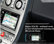 Alpine Autoradio ICS-X8 App Link Station mit DVD/CD/USB/iPhone/iPod