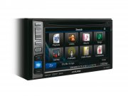 Alpine Autoradio IVE-W585BT mit DVD/CD/USB/iPhone/iPod Bluetooth