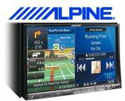 Alpine XXL Navigationsgerät / Autoradio INE-W928R mit USB/iPhone/iPod