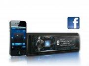 Alpine Autoradio iDE-178BT mit USB/iPhone/iPod-Anschluss Bluetooth