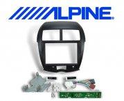 8 Einbauset KIT-8ASX Mitsubishi für Alpine INE-W928R