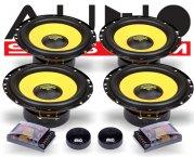 Audio System 2-Wege Auto Lautsprecher-System R 165-4