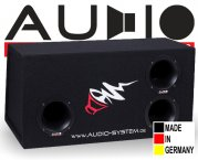 Audio System Subwooferbox HX 12 SQ BP-2
