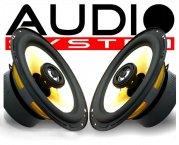 Audio System Audi Lautsprecher-Set CO 165 Audi A3 A4