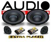 Audio System 2-Wege Auto Lautsprecher-System R 2/20 FLAT