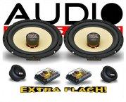 Audio System 2-Wege Auto Lautsprecher-System X 165 FLAT