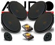 Audio System 2-Wege Auto Lautsprecher-System X 4/20