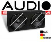Audio System Dual Subwooferbox HX 10 SQ BR-2