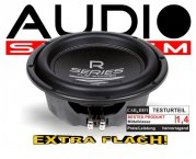 audio system subwoofer r 10 flat extra flach. Black Bedroom Furniture Sets. Home Design Ideas