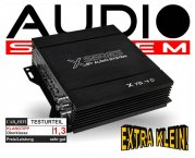 Audio System Car Audio Endstufe X 75.4D
