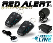 Autoalarmanlage Funk LED-Fernbedienung mit Status-Rückmeldung TS10MAX